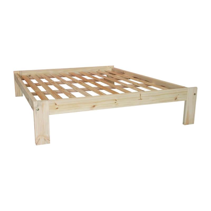Camas 2 plazas camas de pino for Camas de dos plazas baratas