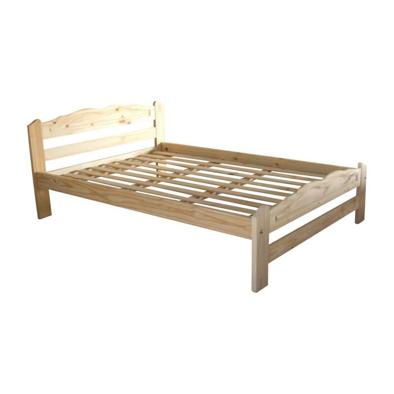 Cama 2 plazas linea simple camas de pino for Tipos de camas de 2plazas